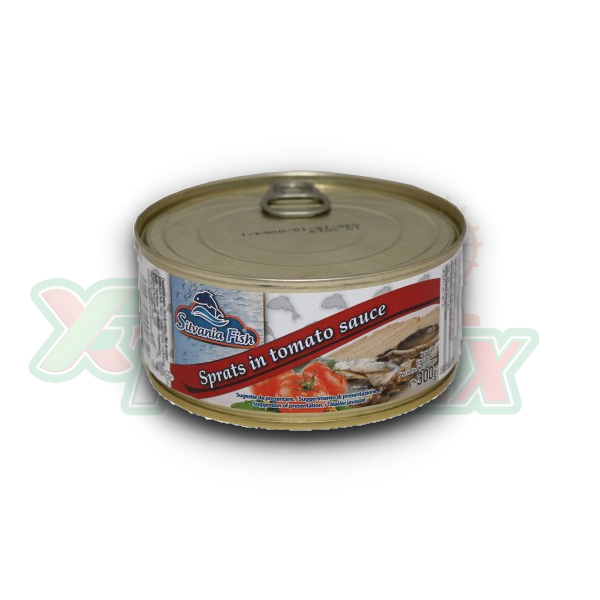 SILVANIA SPRAT IN TOMATO SAUCE 300GR 12/BOX