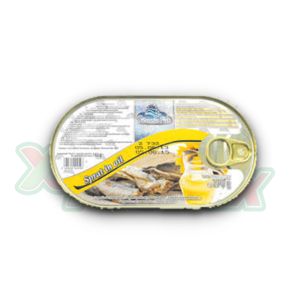 SILVANIA SPRAT IN OIL 170GR 19/BOX