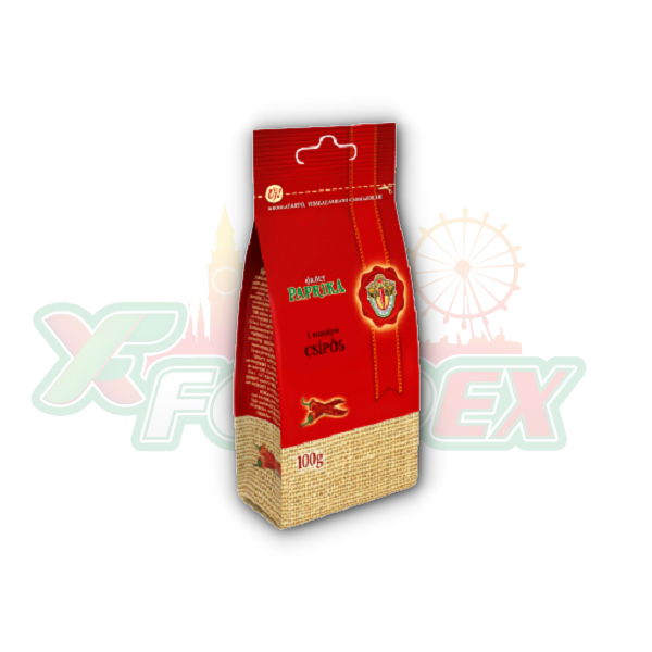 SZEGEDI HOT PAPRIKA POWDER 100GR 20/BOX