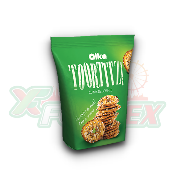 ALKA TOORTITZI CRACKERS WITH MIXED SEEDS 180GR 12/BOX