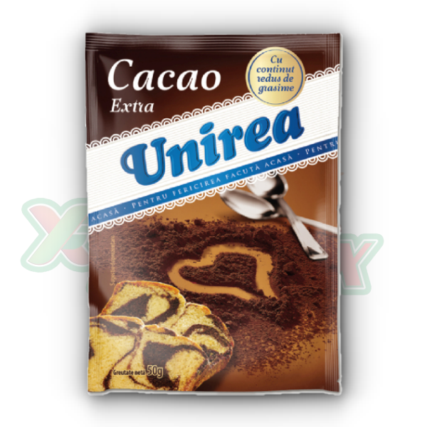 UNIREA EXTRA COCOA POWDER 50GR 20/BOX