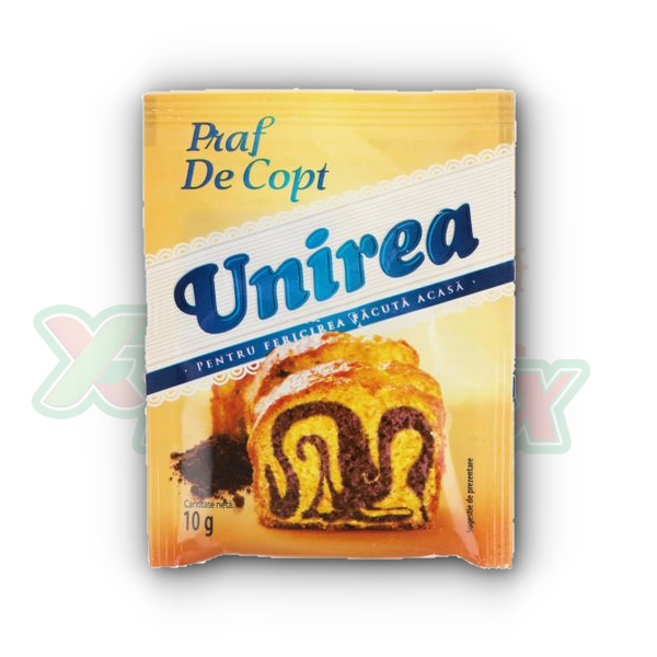 UNIREA BAKING POWDER 10GR 50/BOX