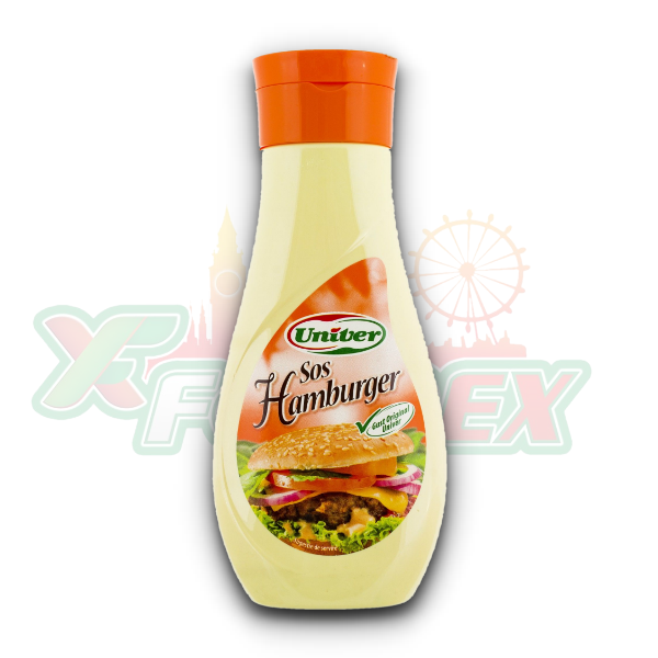 UNIVER HAMBURGER SAUCE 420GR 12/BOX