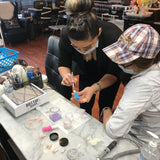 nail class , nail workshop , nail training, nail school , nail academy , hot tips beauty , ninahottips , nail educator , nail teacher