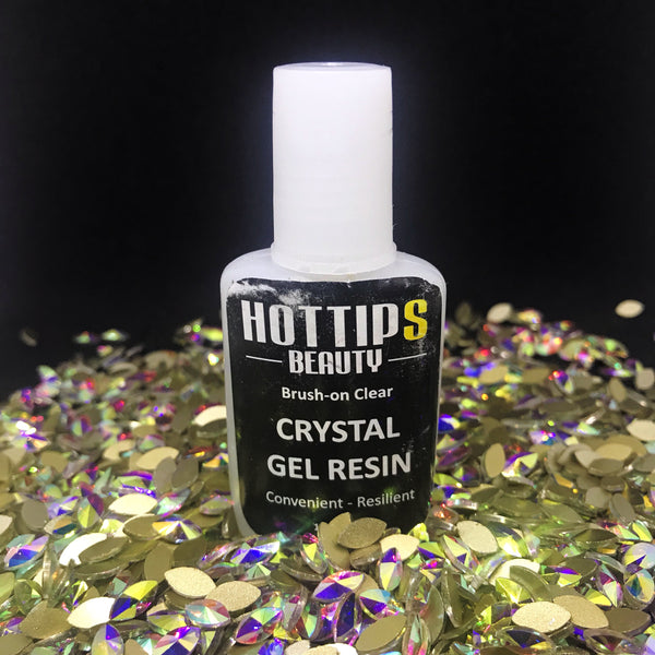 Brush-On Crystal Resin