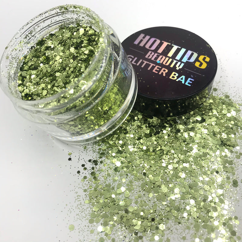 Solid Color Glitter Mix 61