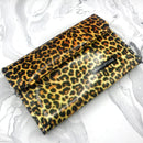 12-pc Leopard Tweezers Case
