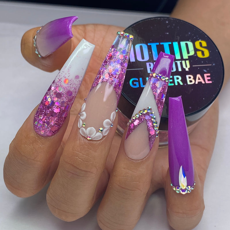 18 color Holo Glitter Custom Mix Collection ($10.99/pc) - Best Value!!