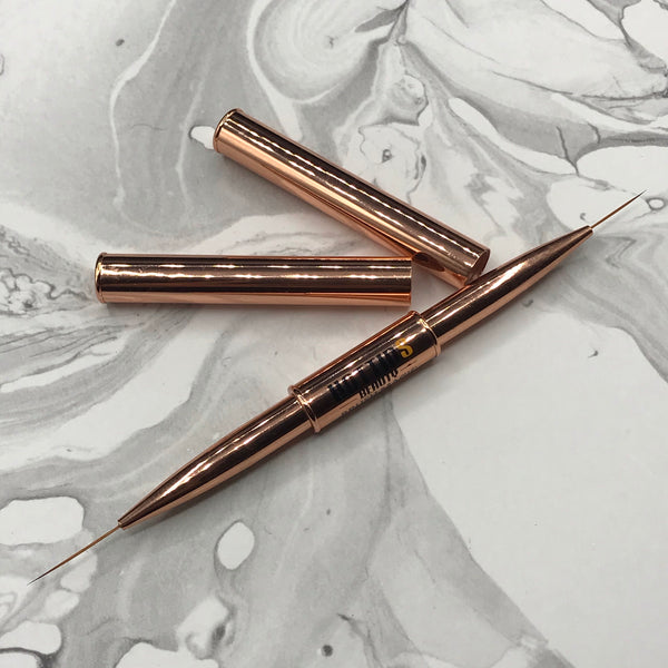 HTB Ultra-Thin Medium & Long Liner Duo Brush | *** On back order! Will ship by First week April
