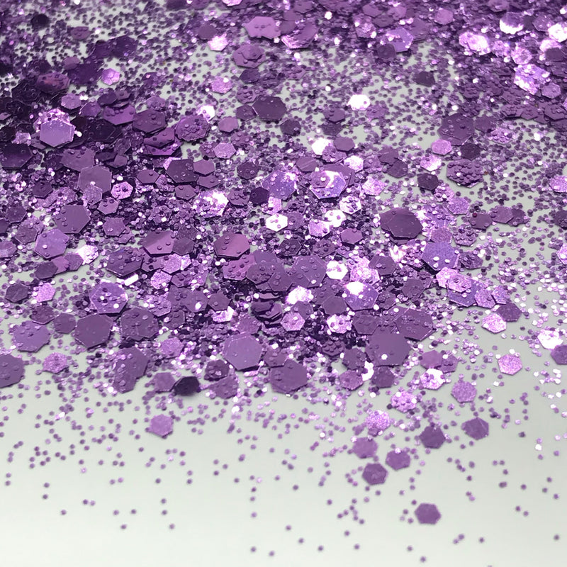 Solid Color Glitter Mix 52