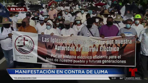 LSC SWAG - Protest Against LUMA Energy Privatization Contract in Puerto Rico