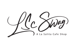 LSC Swag, a La Salita Cafe Shop Logo