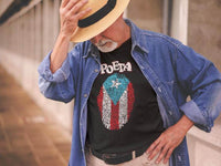 LSC Swag Model Puerto Rico Poet Eco-Friendly T-Shirt in Black
