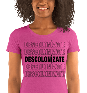 LSC Swag Berry Decolonize Ladies' Eco-Friendly t-shirt