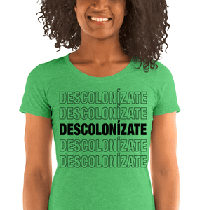 LSC Swag Green Decolonize Ladies' Eco-Friendly t-shirt