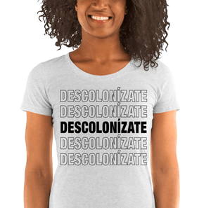 LSC Swag White Fleck Decolonize Ladies' Eco-Friendly t-shirt