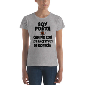 LSC's Soy Poeta Women's short sleeve t-shirt