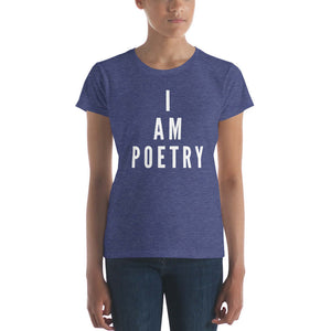 LSC's I Am Poetry Women's short sleeve t-shirt