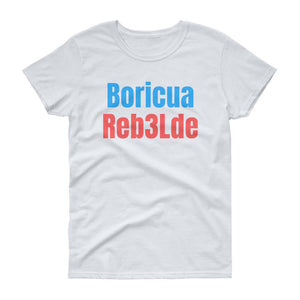 LSC's Boricua Rebelde Women's short sleeve t-shirt