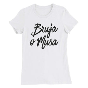 LSC Swag White Bruja o Musa Eco-Friendly Women's T-Shirt