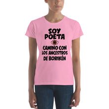 Load image into Gallery viewer, LSC's Soy Poeta Women's short sleeve t-shirt