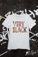 Load image into Gallery viewer, LSC Swag Very Black Eco-Friendly Unisex T-Shirt in Ash