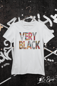 LSC Swag Very Black Eco-Friendly Unisex T-Shirt in Ash