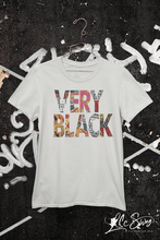 Load image into Gallery viewer, LSC Swag Very Black Eco-Friendly Unisex T-Shirt in Silver