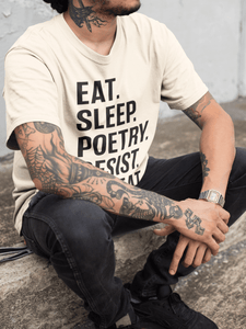 LSC's Poetic Revolution Eco-Friendly Short-Sleeve Unisex T-Shirt - LSC Swag