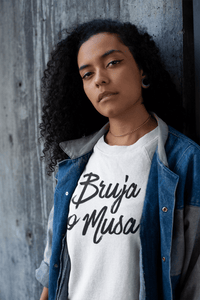 LSC Swag Model Bruja o Musa Eco-Friendly Women's T-Shirt