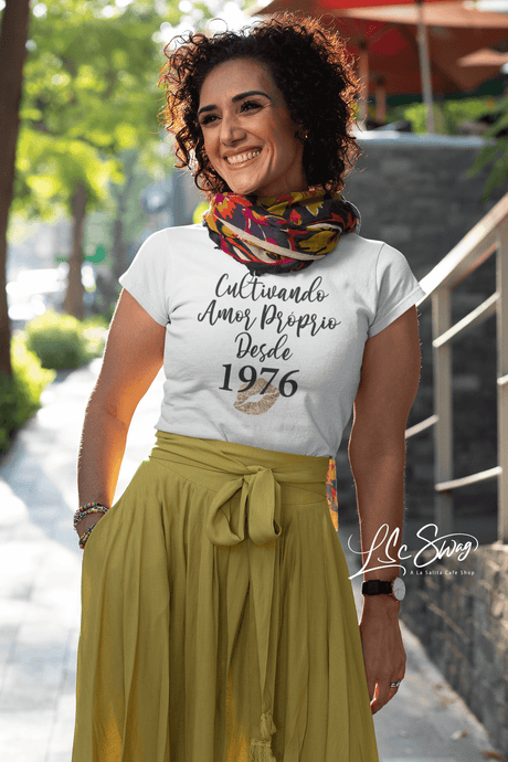 LSC's Personalized Amor Proprio Eco-Friendly Short-Sleeve Unisex T-Shirt