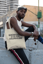 Load image into Gallery viewer, LSC Swag Model Gentrification Organic Tote Bag