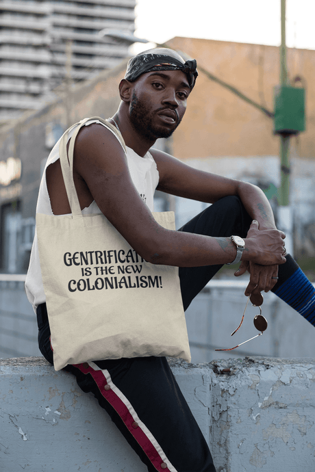 LSC Swag Model Gentrification Organic Tote Bag