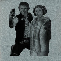 Star Wars selfie, Han and Leia