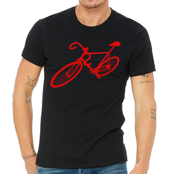 Yes, a bike on a t shirt