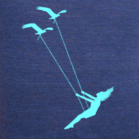 Flying bird swing