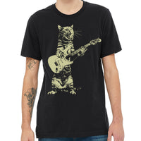 Rock & Roll Cat Guitar