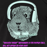 Wholesale Guinea Pig Wearing Headphones