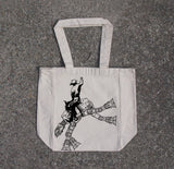 Star Wars AT AT rodeo- cotton canvas natural tote bag