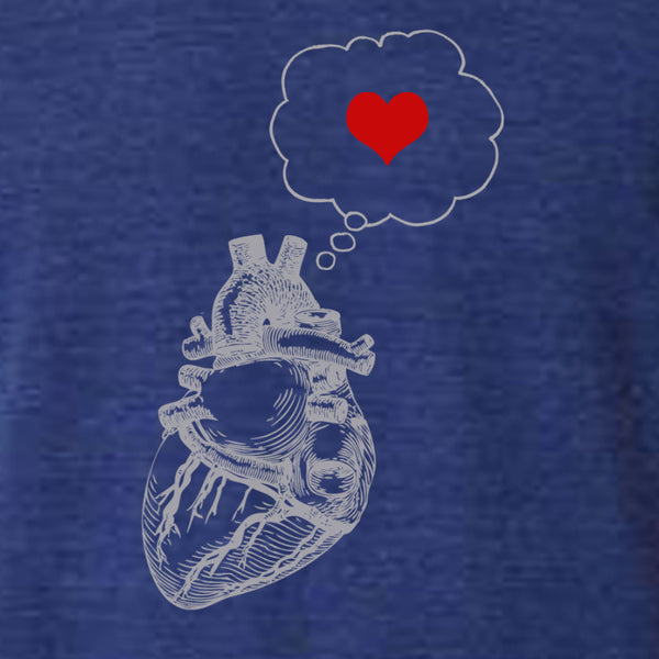 Wholesale  Mens heart thinking heart