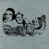 Mount Nasty- Great American women on Mt Rushmore