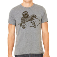 Sloth Riding A Skateboard