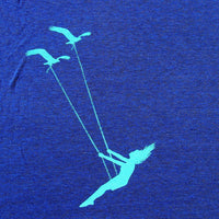 Flying bird swing racerback tank top