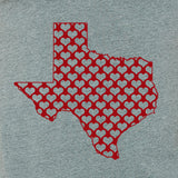 Texas hearts- men's