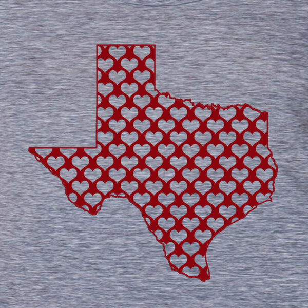 Wholesale Texas hearts- women's