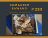 KUMANDER BAWANG (HONEY GARLIC WINGS)