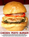 CHICKEN PESTO BURGER