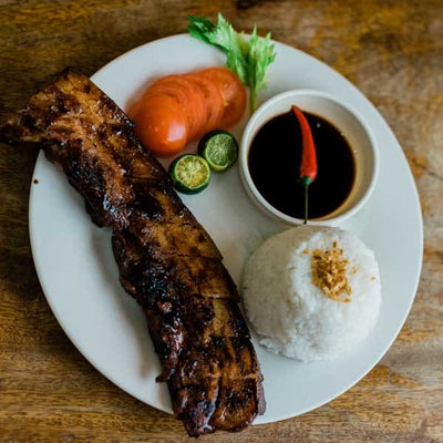 Grilled Liempo Rice