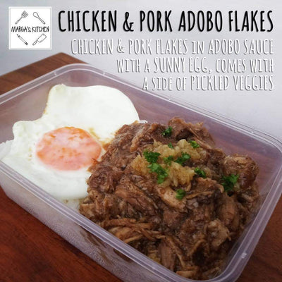 Chicken & Pork Adobo Flakes