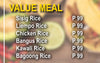 VALUE MEAL
